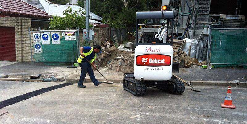bobcat for plumbing